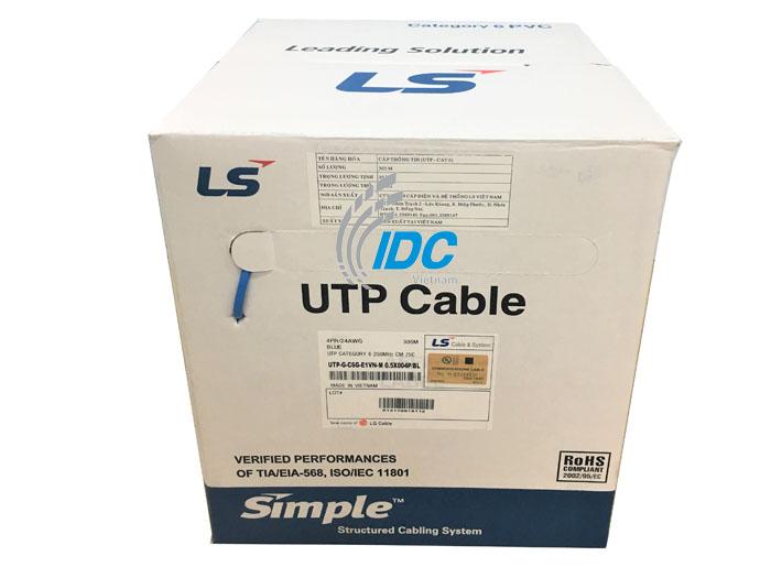 Dây cáp mạng U/UTP CAT6 4 đôi